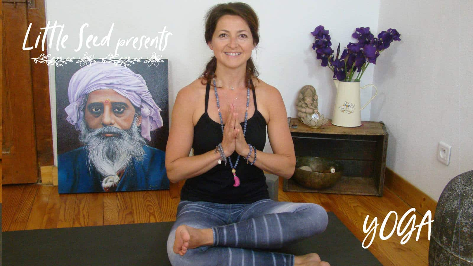 Yoga Agnistambhasana: Little Seed by Chantal & David : Yoga, Soma Breath, Nutrition