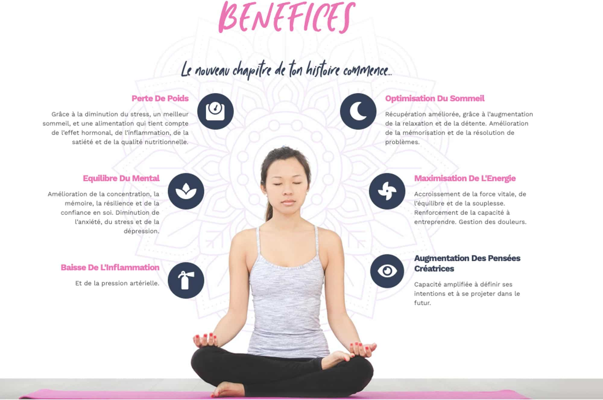 Bénéfices: Little Seed by Chantal & David : Yoga, Soma Breath, Nutrition