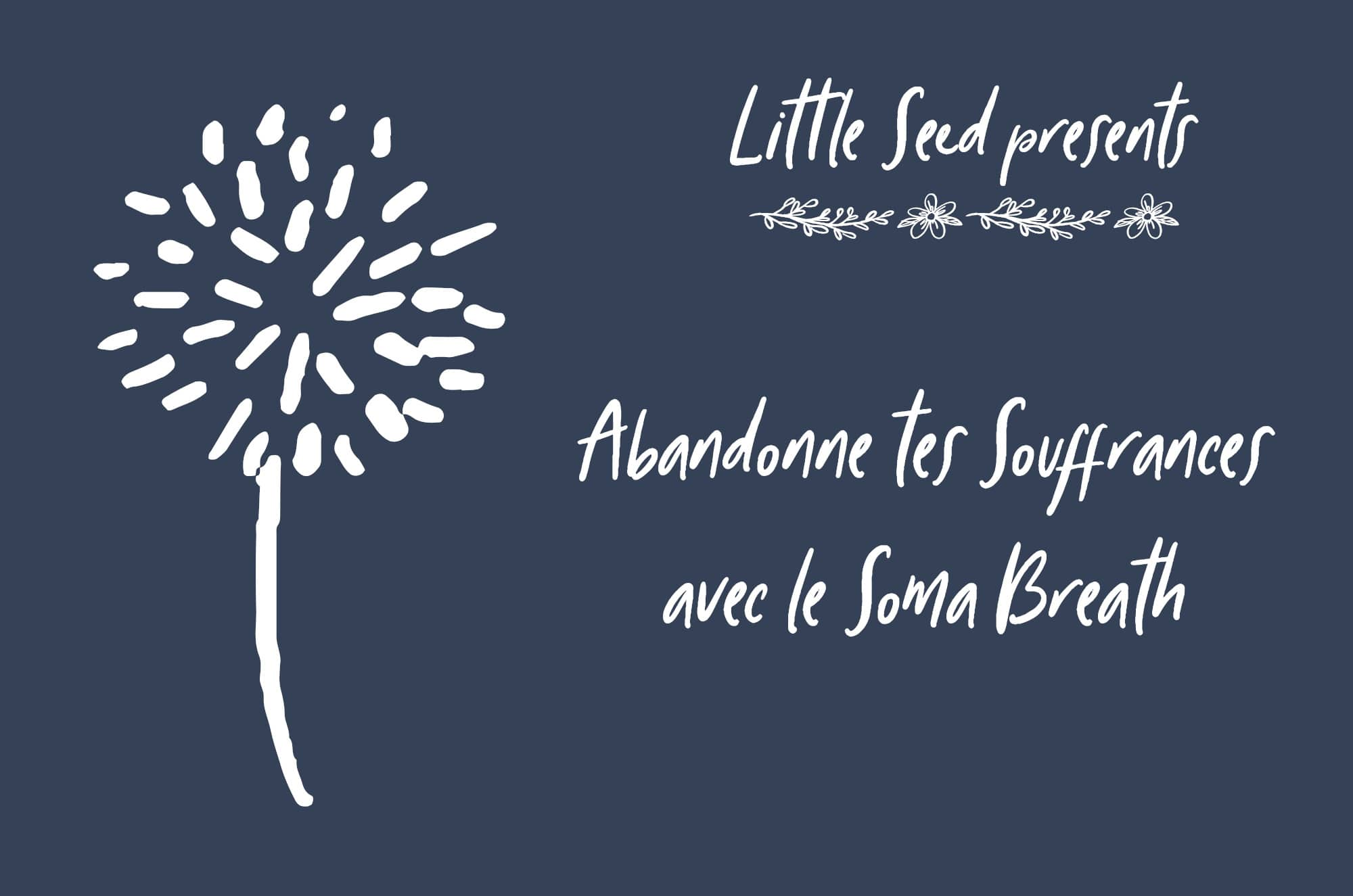 Abandonne tes souffrances : Little Seed by Chantal & David : Yoga, Soma Breath, Nutrition